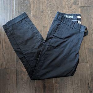 J Crew Frankie Black Pants